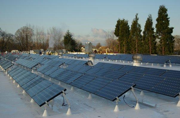 Ez Tilt Up Flat Roof Solar Rack System Sunmodo